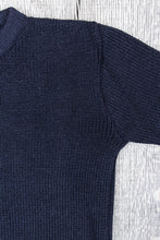 Heimat Crew Neck Wool Sweater Ink