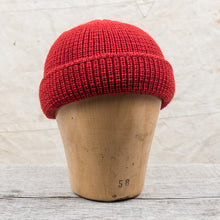 Heimat Wool Deck Hat Safety Red