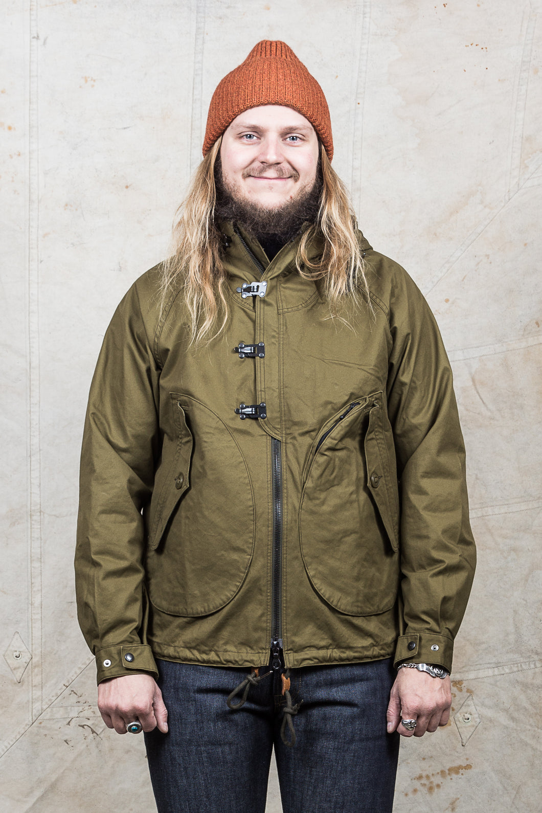 Eastlogue Wet Weather Parka Olive Drab