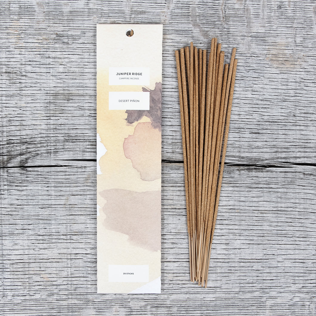 Juniper Ridge Campfire Incense Desert Piñon