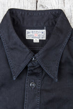 Buzz Rickson's Black HBT Twill Work Shirt