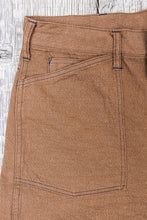 Buzz Rickson's Trousers Working Brown Denim