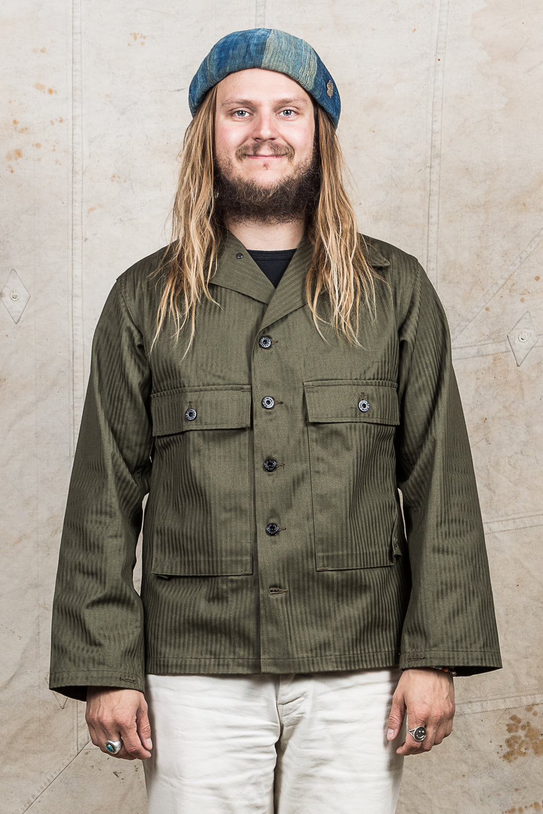 Warehouse & Co USN Herringbone Utility Jacket