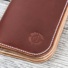 Lone Wolf Leathers Tall Wallet Shinki Shell Cordovan Bourdaux