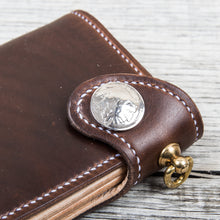 Lone Wolf Leathers Handmade Tall Wallet Horween Chromexcel Brown