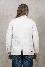 Pallet Life Story White Canvas Painter Jacket