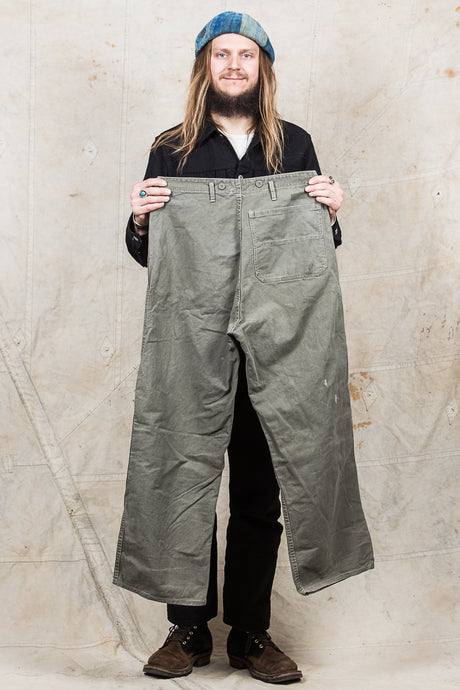 Vintage 1940s / 50s Swedish Army Pants