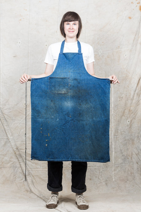 Vintage Denim Apron #1