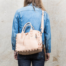 Lone Wolf Leather Nubuck Tote Bag