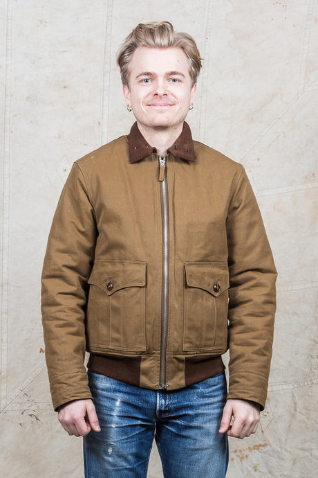 Secondhand Freewheelers 1930's Civilian Military Style Jacket