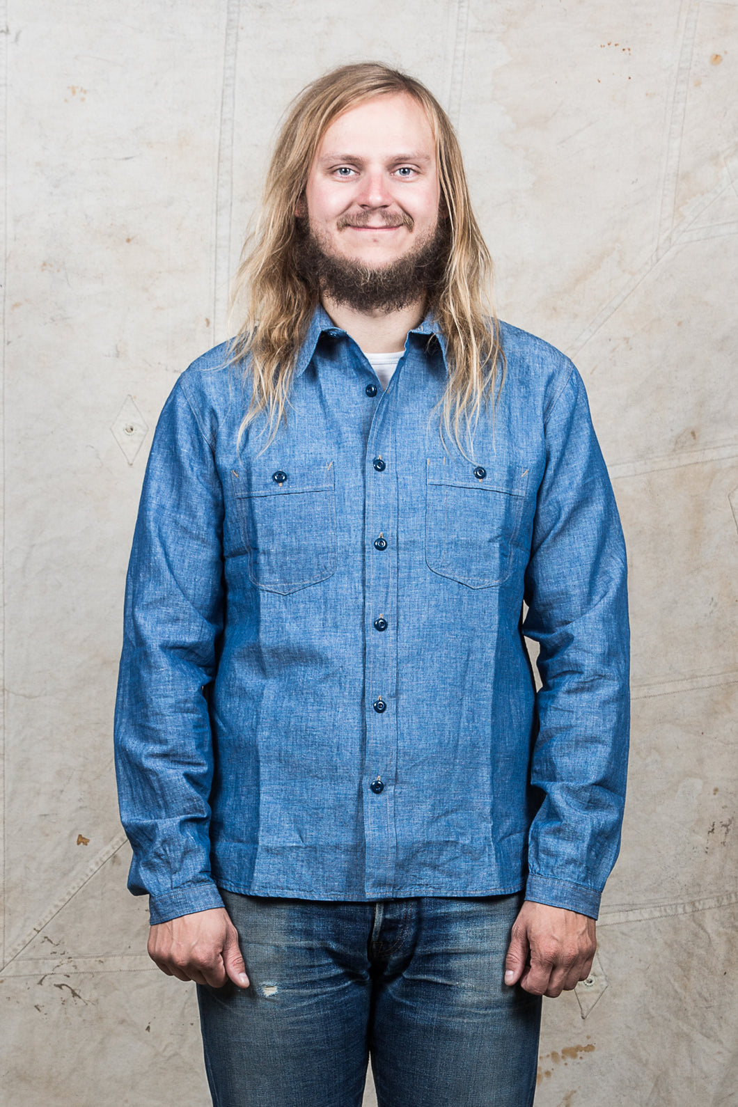 Indigofera Holden Chambray Shirt