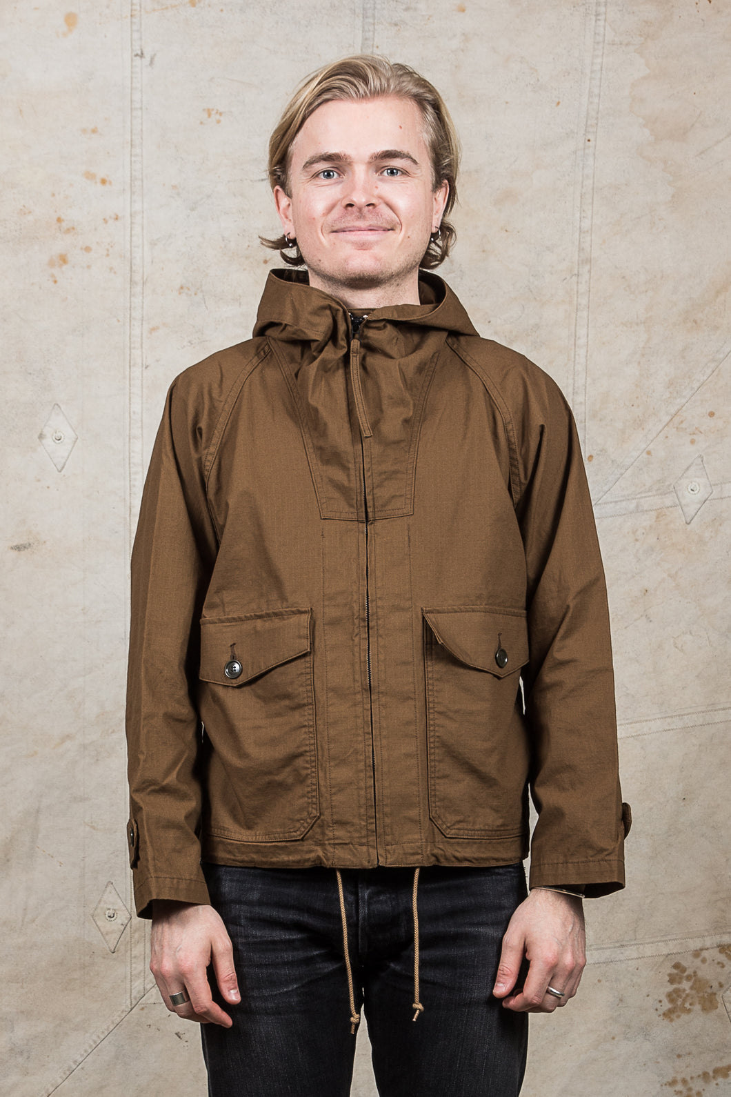 Burgus Plus & Co. Ripstop Oiled Parka