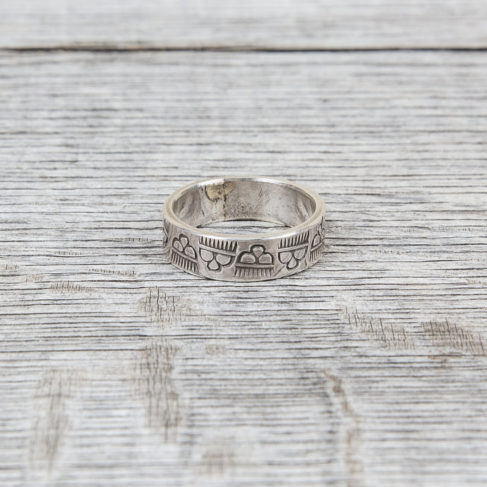 Tenable Crafts Bad Weather Silver Ring #114