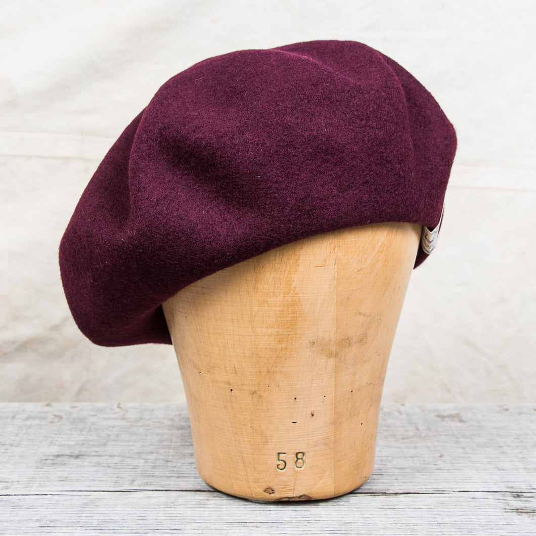 H. W. Dog & Co. Wool Beret Wine