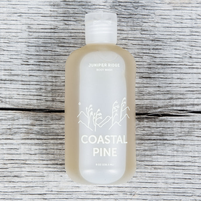 Juniper Ridge Organic Body Wash Coastal Pine 8oz