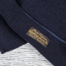 Buzz Rickson's US Military Wool Scarf Navy Blue