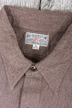 Buzz Rickson's Mock-Twist Chambray Shirt Brown