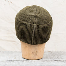 Papa Nui Cap Co. Seabees Watch Cap Olive Wool