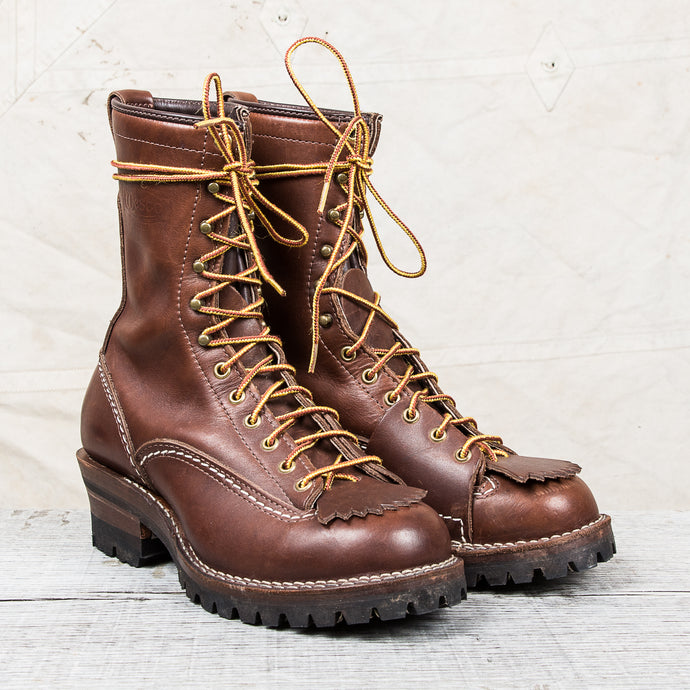Second hand Wesco Highliner 3808 Brown Boots US 9