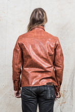 Indigofera Eagle Rising Horsehide Leather Jacket