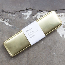 Traveler's Company Solid Brass Pencase Made in Japan