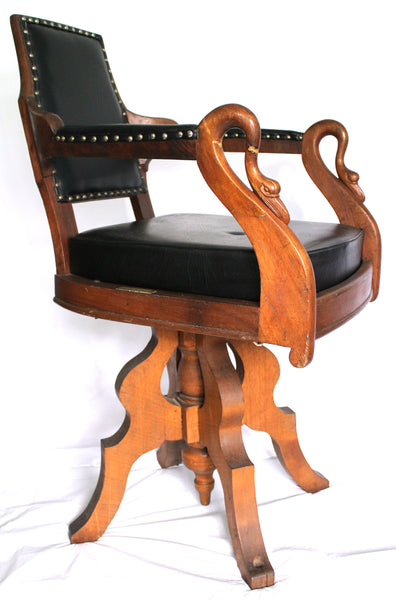 ... Antique Barber Chair ...  sc 1 st  The Travelers Wheel & Antique Barber Chair u2013 The Travelers Wheel