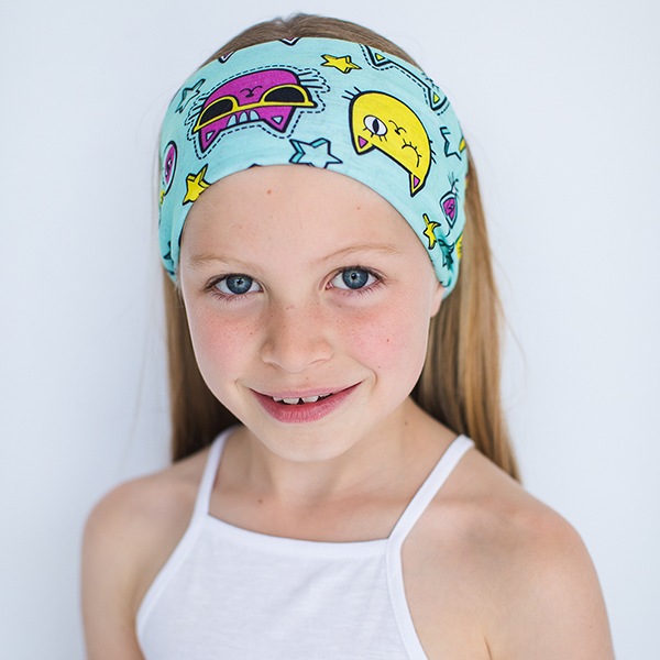 Kids Cool For Cats <br> <b> KIDS MULTI USE HEADBAND </b>