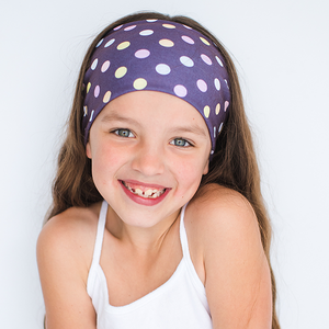 KIDS COTTON CANDY MULTI USE HEADBAND