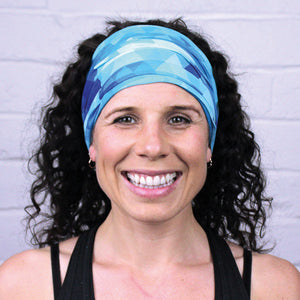 BLUE BLISS MULTI USE HEADBAND