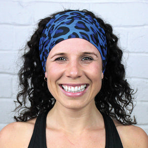 Animal Blue<br><b>MULTI USE HEADBAND</b>