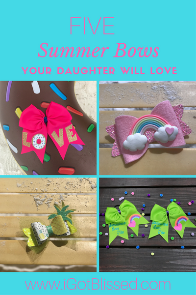 5 Summer Bows Your Daughter Will Love