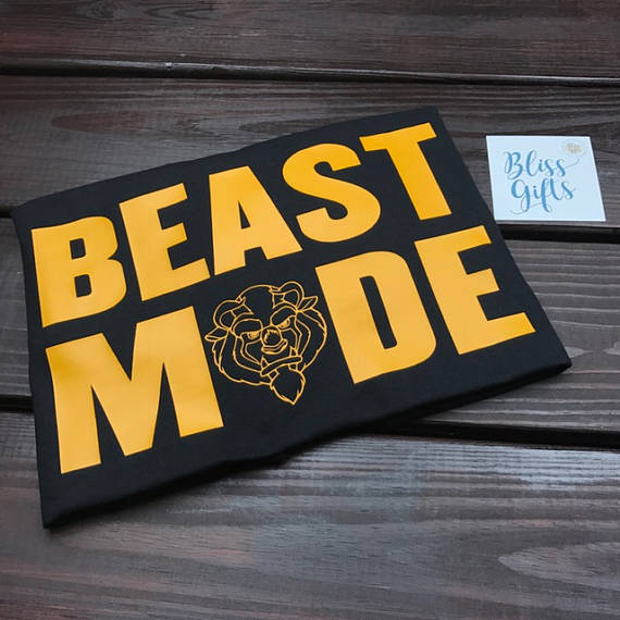 Beast Mode - Beauty and the Beast, Disney Shirt, Funny Dad Shirt, Disney Shirt, Beast Shirt