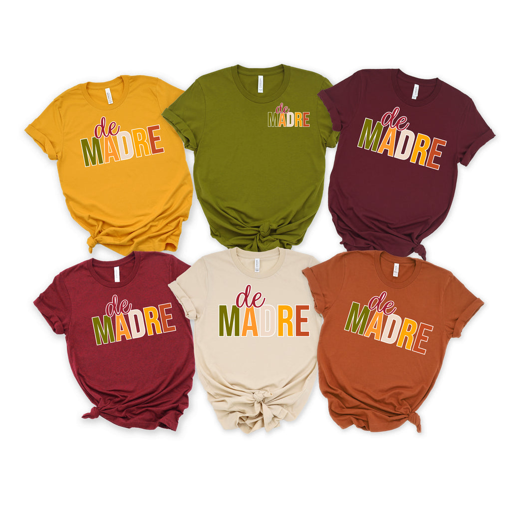 De Madre - Fall Colors - Design Will Be Small on Left