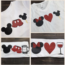 Minnie Heart Icecream Epcot Food & Wine Shirt