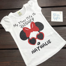 Minnie / Mickey Aviator Glasses Shirt