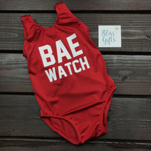 BAE Watch Inspired whole piece swimsuit
