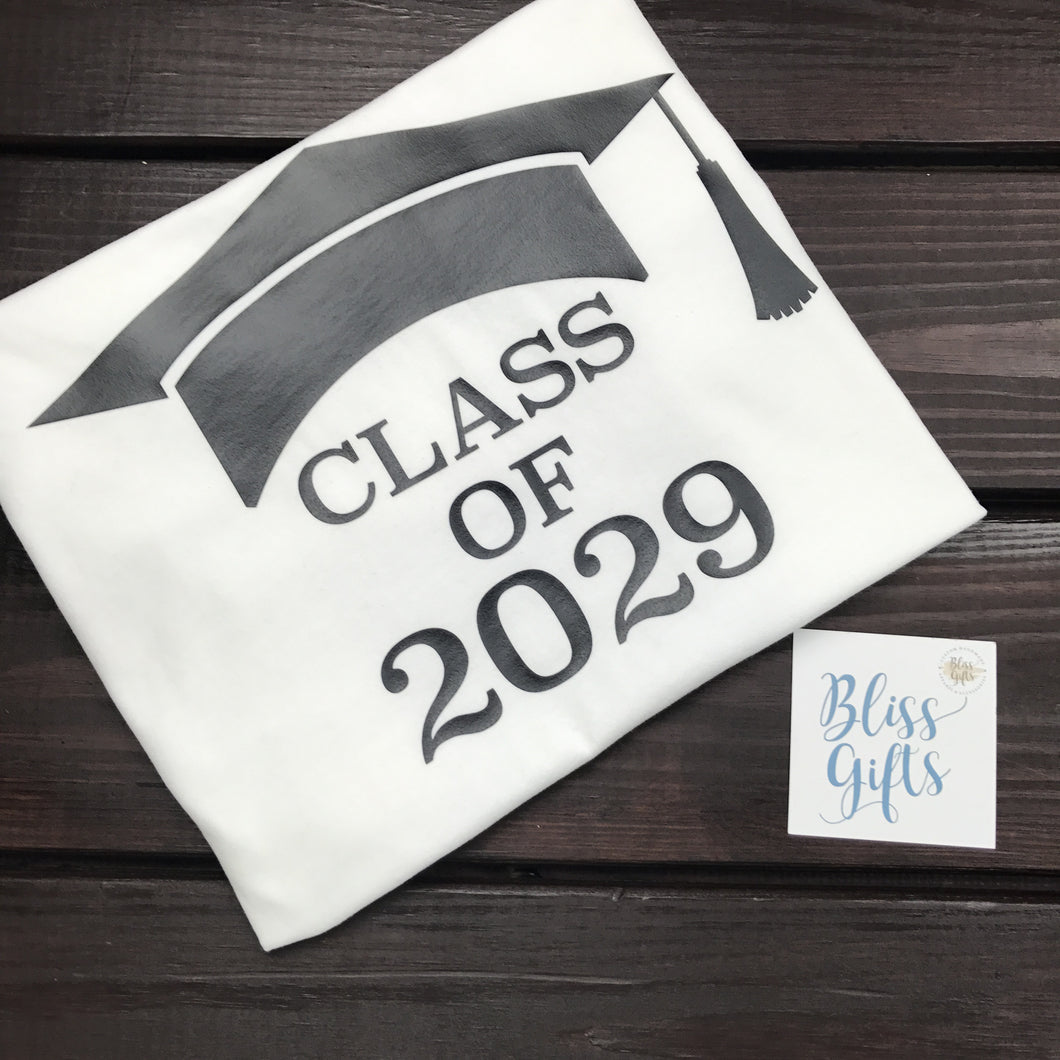 Kindergarten Graduation Shirt - Class of 2029