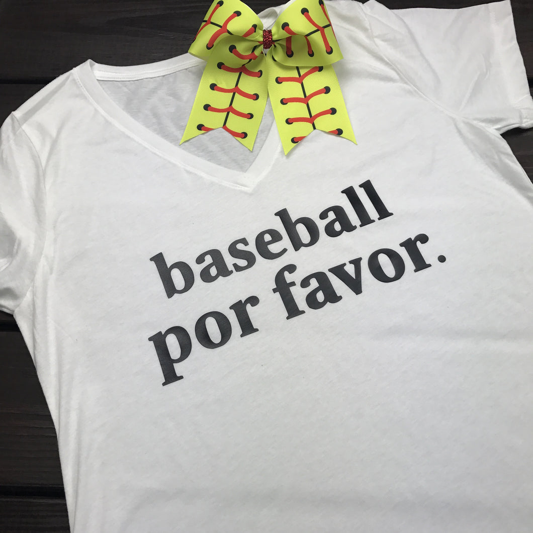 Baseball Por Favor (Please)