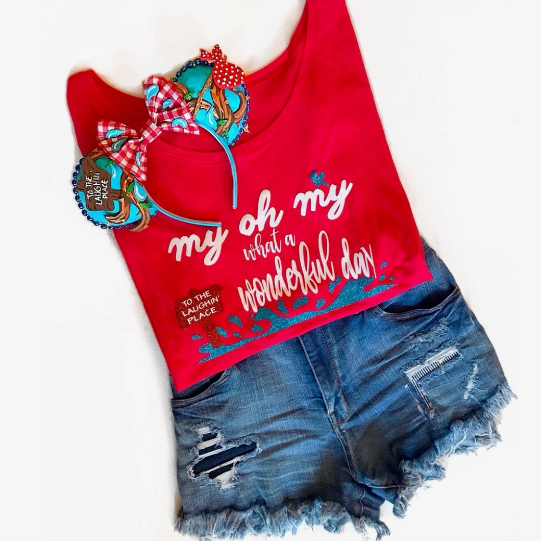 Disney Shirt, Splash Mountain, My Oh My, Cute Disney Top, Disney Glitter SHirt