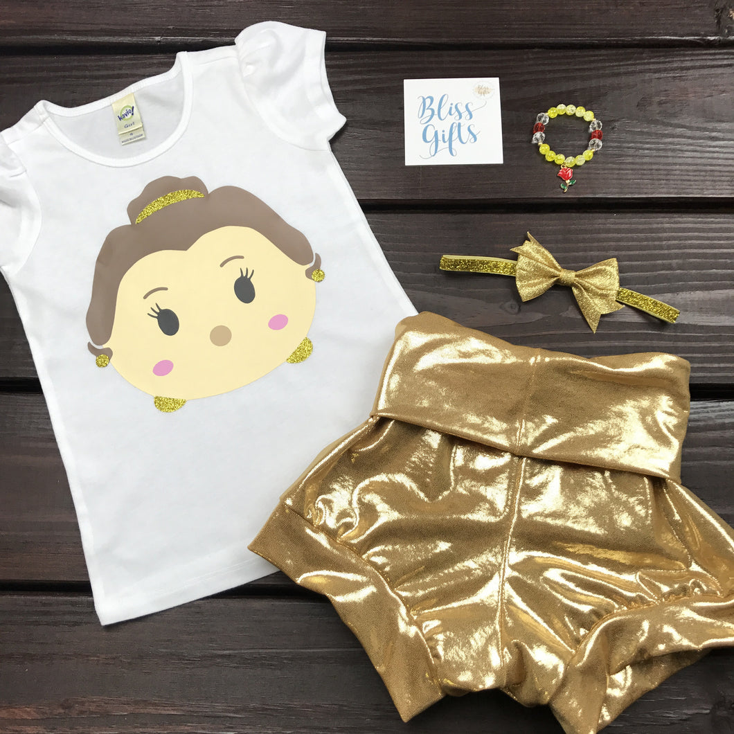 Princess Belle Tsum Tsum Shirt