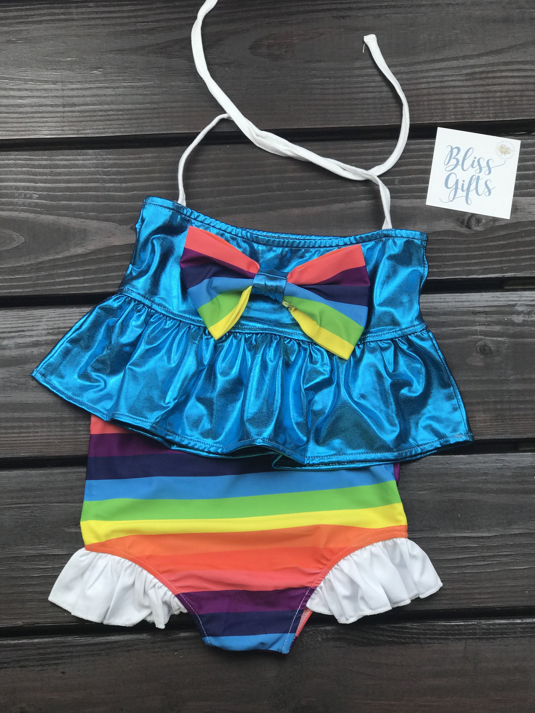 Rainbow Dash Inspired Bikini