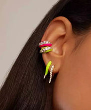 Avery Neon Ear Cuffs