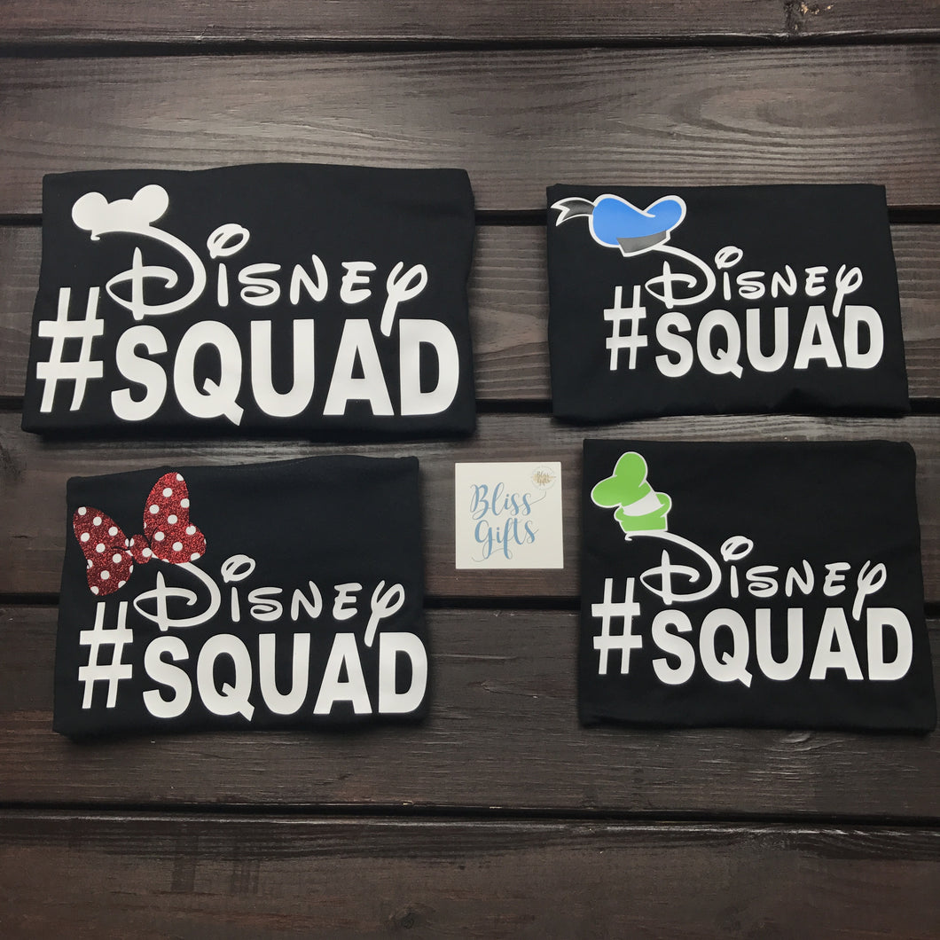 Disney Squad Shirt with Donald Hat