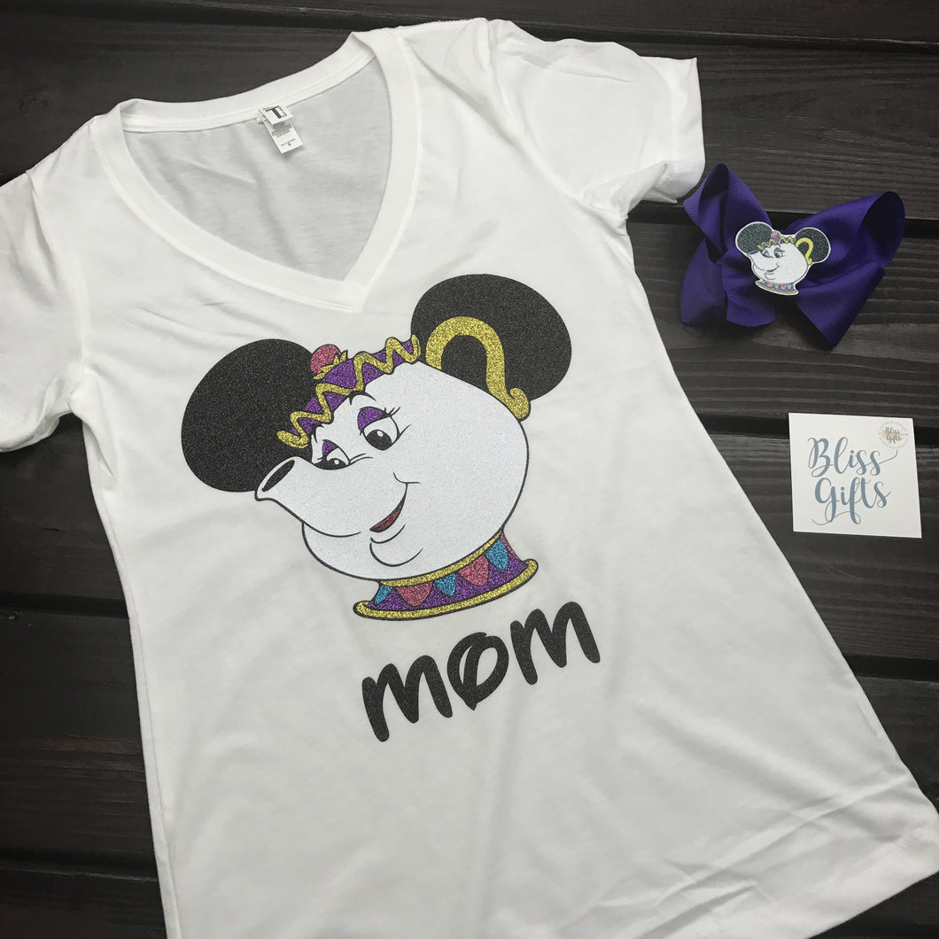 Mrs. Potts Mouse Shirt