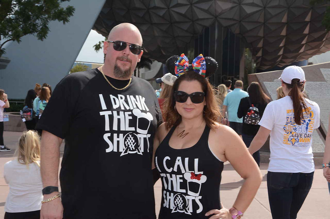 Couples Drinking Shirts I Call The Shots