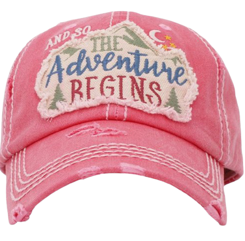 Adventure Begins Cap