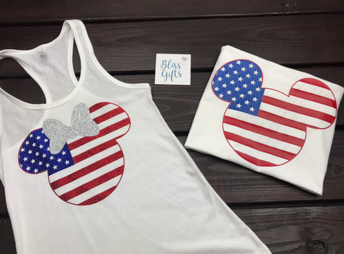 Mouse 4Th of July Shirts