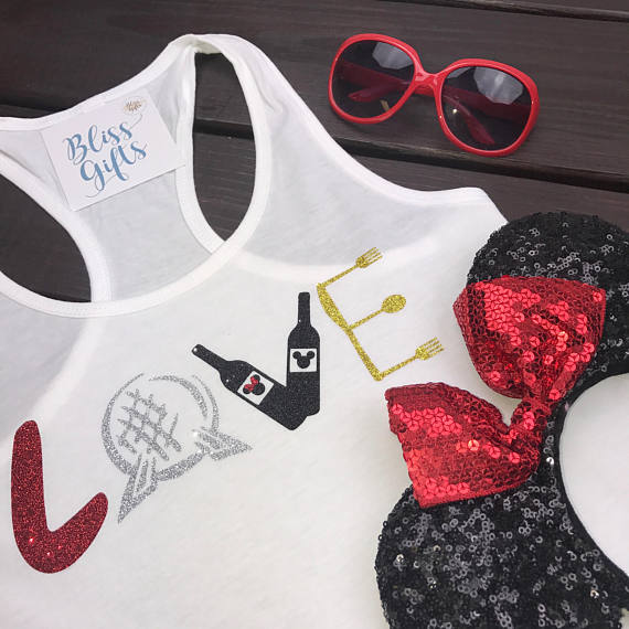 LOVE, Food and Wine shirts, Epcot Food and Wine, Disney Drinking Shirts