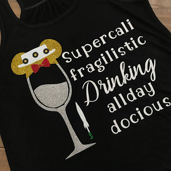 Food And Wine Shirt, Mary Poppins, Epcot Food And Wine, EPCOT, Disney Drinking