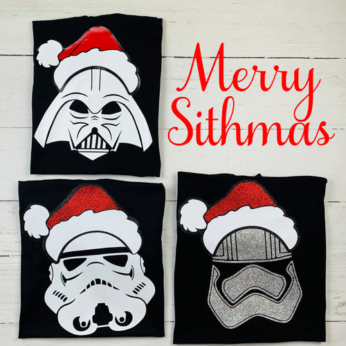 Star Wars Santa Shirts